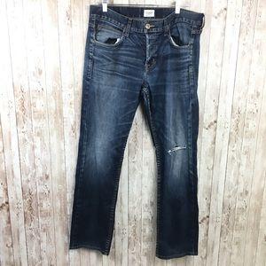 Hudson Byron Five Pocket Straight Leg Jeans